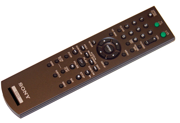OEM Sony Remote Control Originally Supplied With: DVPNS57P, DVP-NS57P, DVPNS601HP, DVP-NS601HP, DVPNS700H, DVP-NS700H