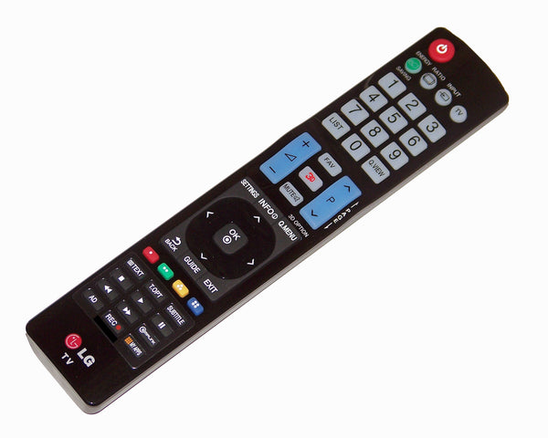 OEM LG Remote Control Originally Shipped With: 26LC7D, 32WL30MS, 32WL30MSB