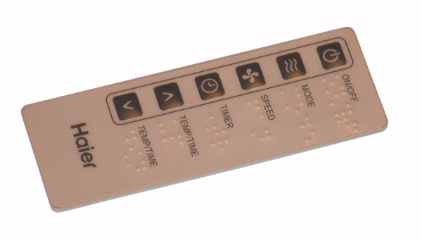 OEM Haier Remote Control Originally Supplied With: HWR05XCM