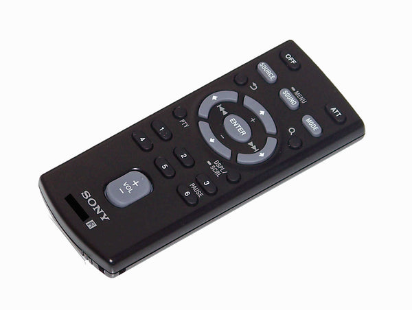 OEM Sony Remote Control Originally Shipped With: CDXGS500R, CDX-GS500R, CDXG3150UP, CDX-G3150UP, CDXGT66UPW, CDX-GT66UPW