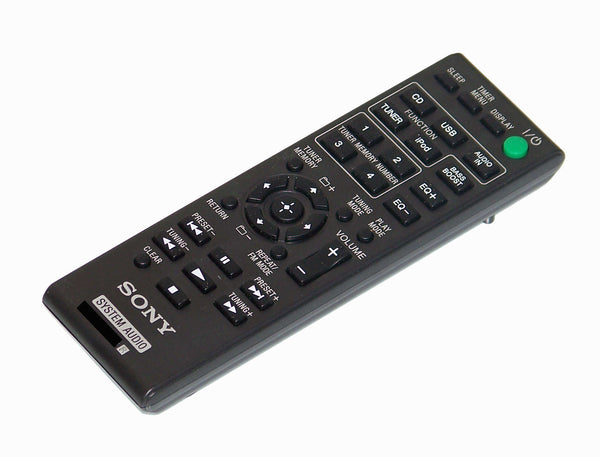 OEM Sony Remote Control Originally Shipped With: HCDEC719IP, HCD-EC719IP, HCDEC919IP, HCD-EC919IP