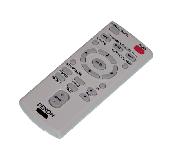 OEM Denon Remote Control Originally Supplied With: ASD-3N, ASD3N, ASD-3W, ASD3W