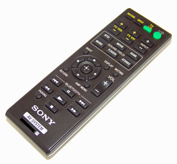 OEM Sony Remote Control Originally Shipped With: SA-CT260H, SACT260H, SA-WCT260H, SAWCT260H
