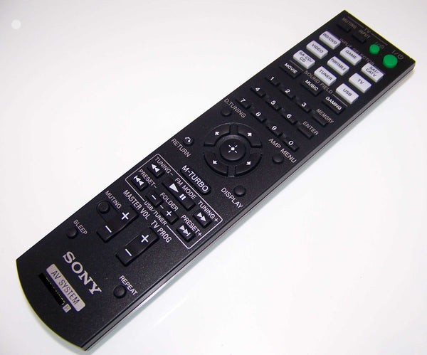 OEM Sony Remote Control Originally Shipped With: HTM7, HT-M7, STRKM2, STR-KM2, STRKM3, STR-KM3