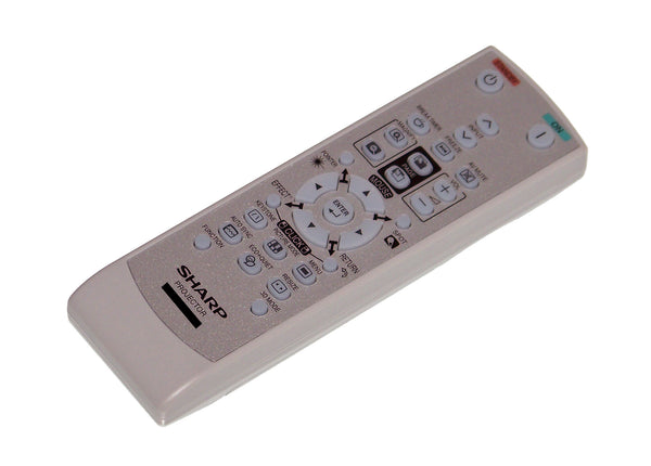 OEM Sharp Remote Control Originally Shipped With PGD2870W & PG-D2870W