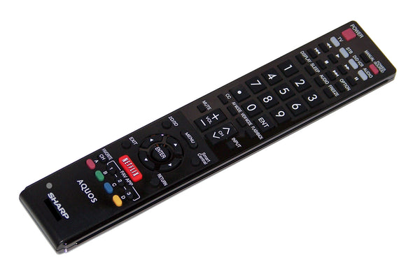 OEM Sharp Remote Control Originally Shipped With LC60SQ10U & LC-60SQ10U