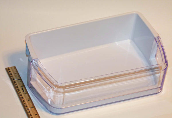 NEW OEM Samsung Refrigerator Door Bin Basket Shelf Originally Shipped With RFG297HDBP/XAA, RFG297HDPN