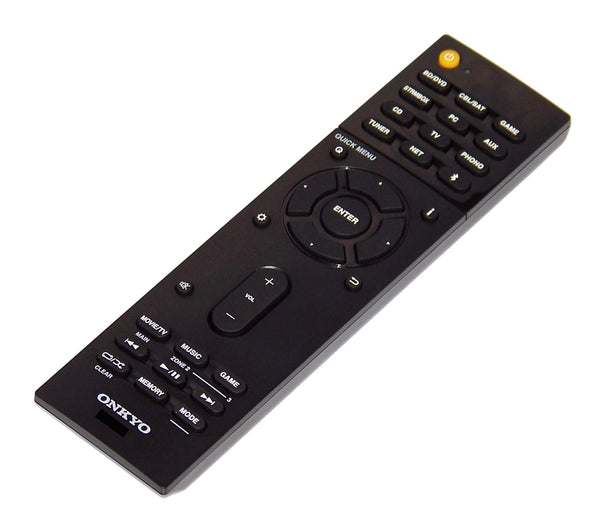 NEW OEM Onkyo Remote Control Shipped With TX-NR777, TXNR777, TX-RZ810, TXRZ810