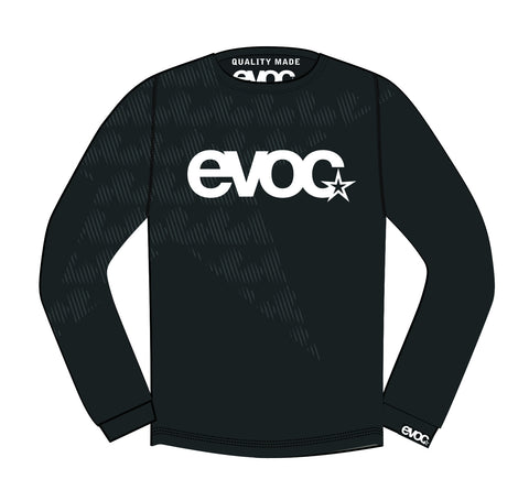 CLOSEOUT - EVOC LONG SLEEVE JERSEY - BLACK