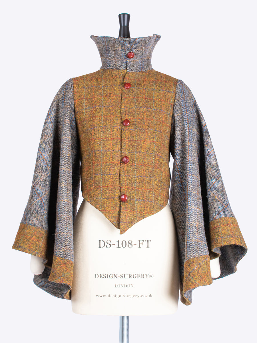 British fashion label - Rust and Sage country style Harris Tweed luxury jacket