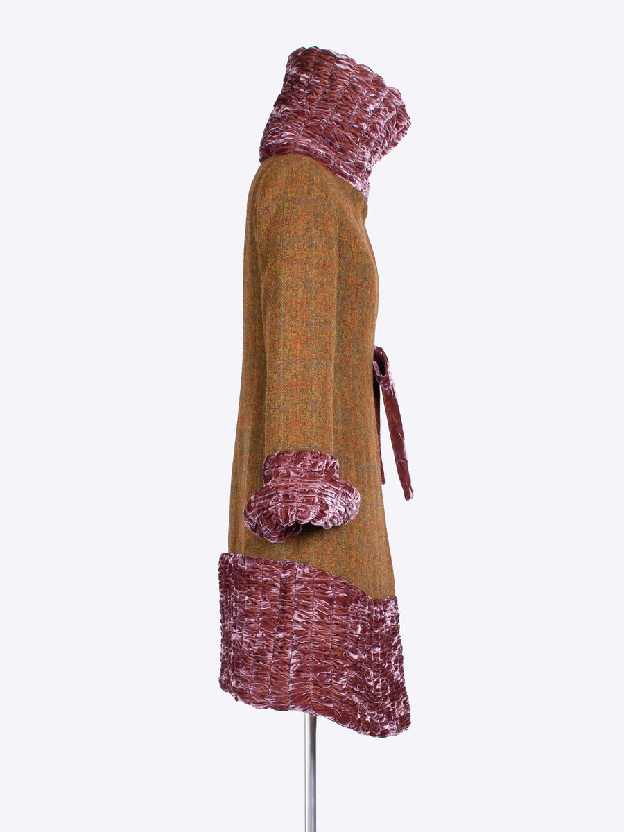 ladies tailoring - 20s style Harris Tweed investment coat