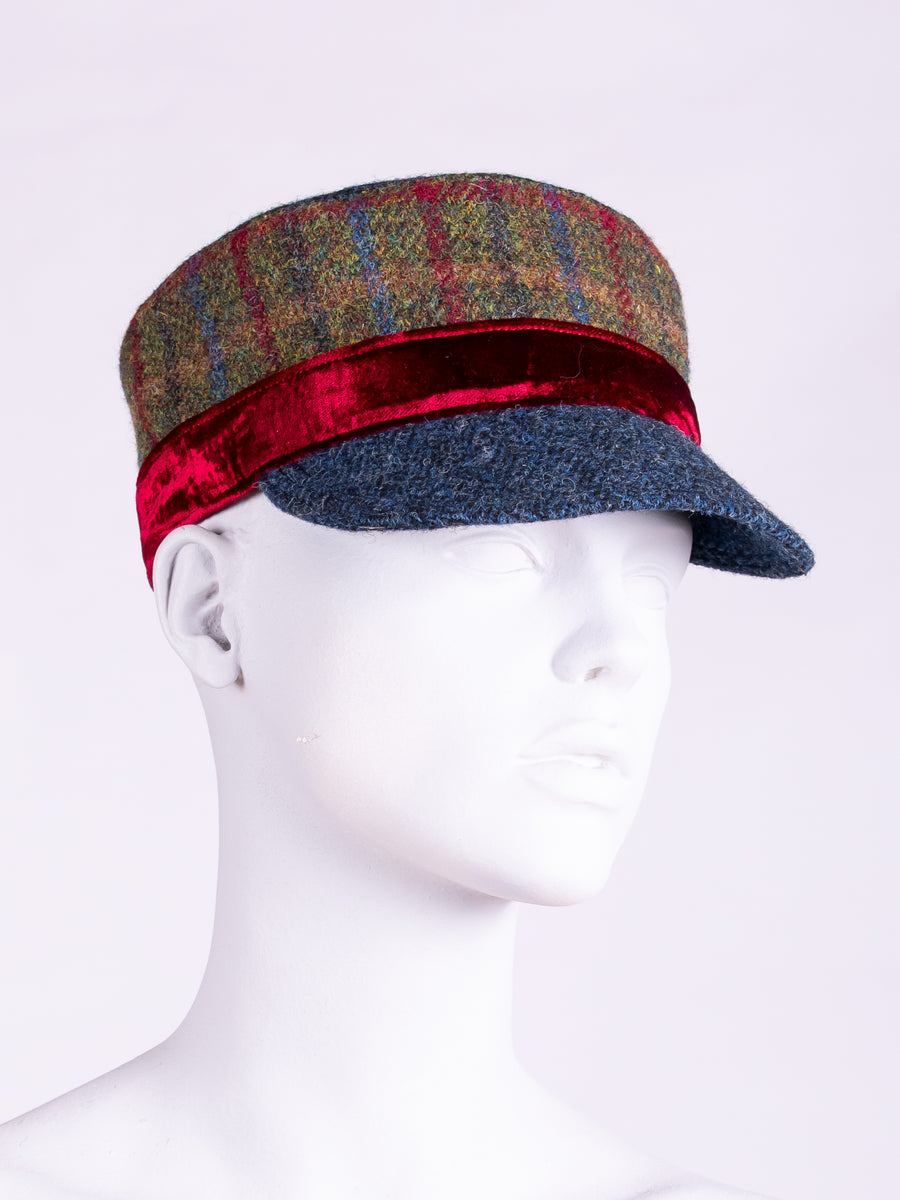 slow fashion - ladies tweed cap