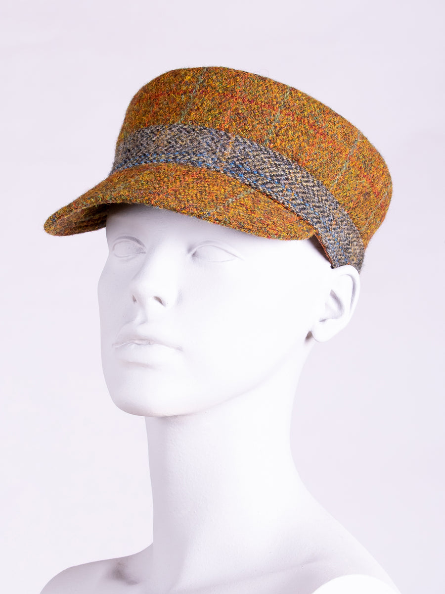 British fashion label - country style handwoven wool hat