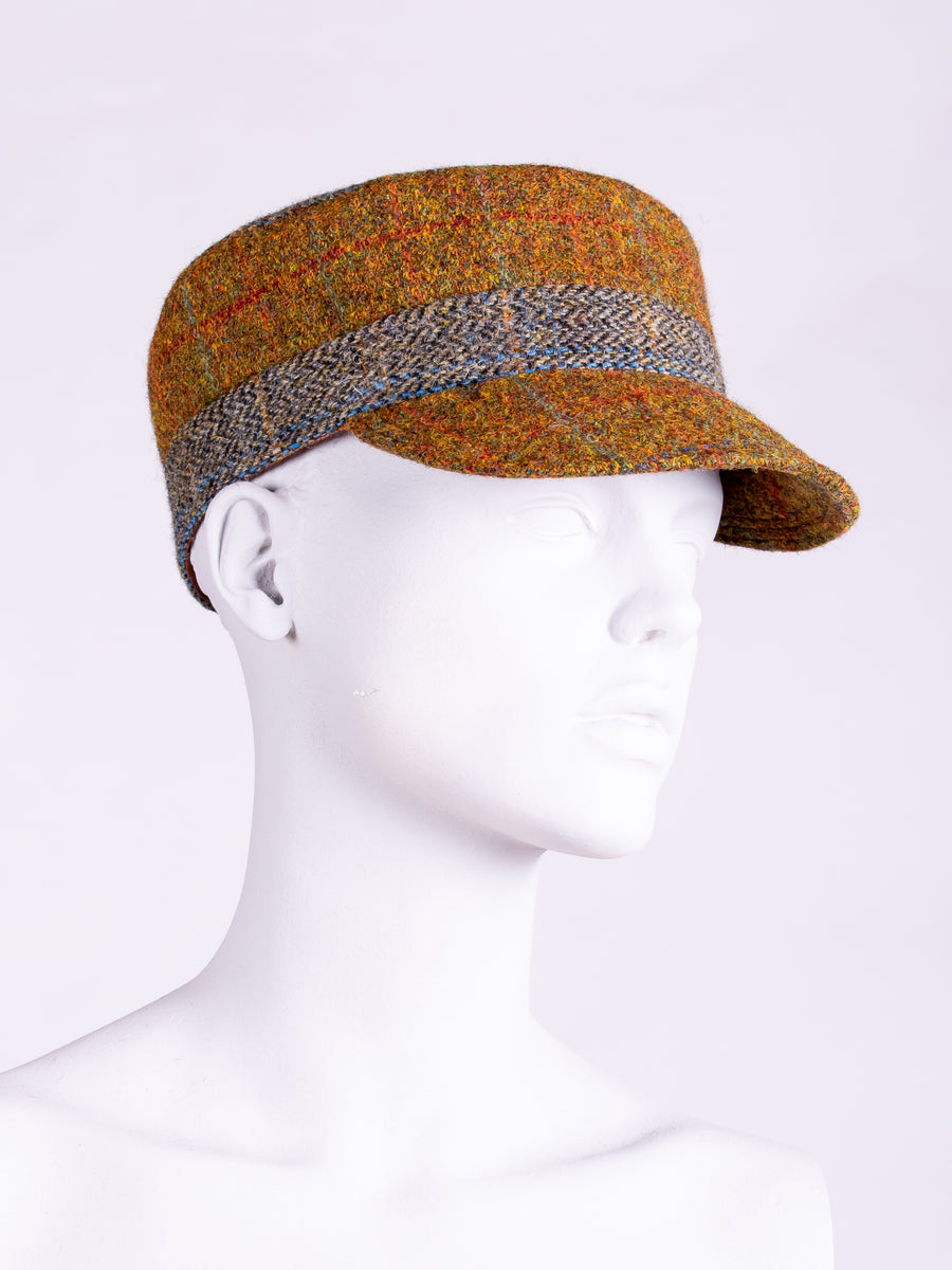 Town and Country Cap. Rust & Sage
