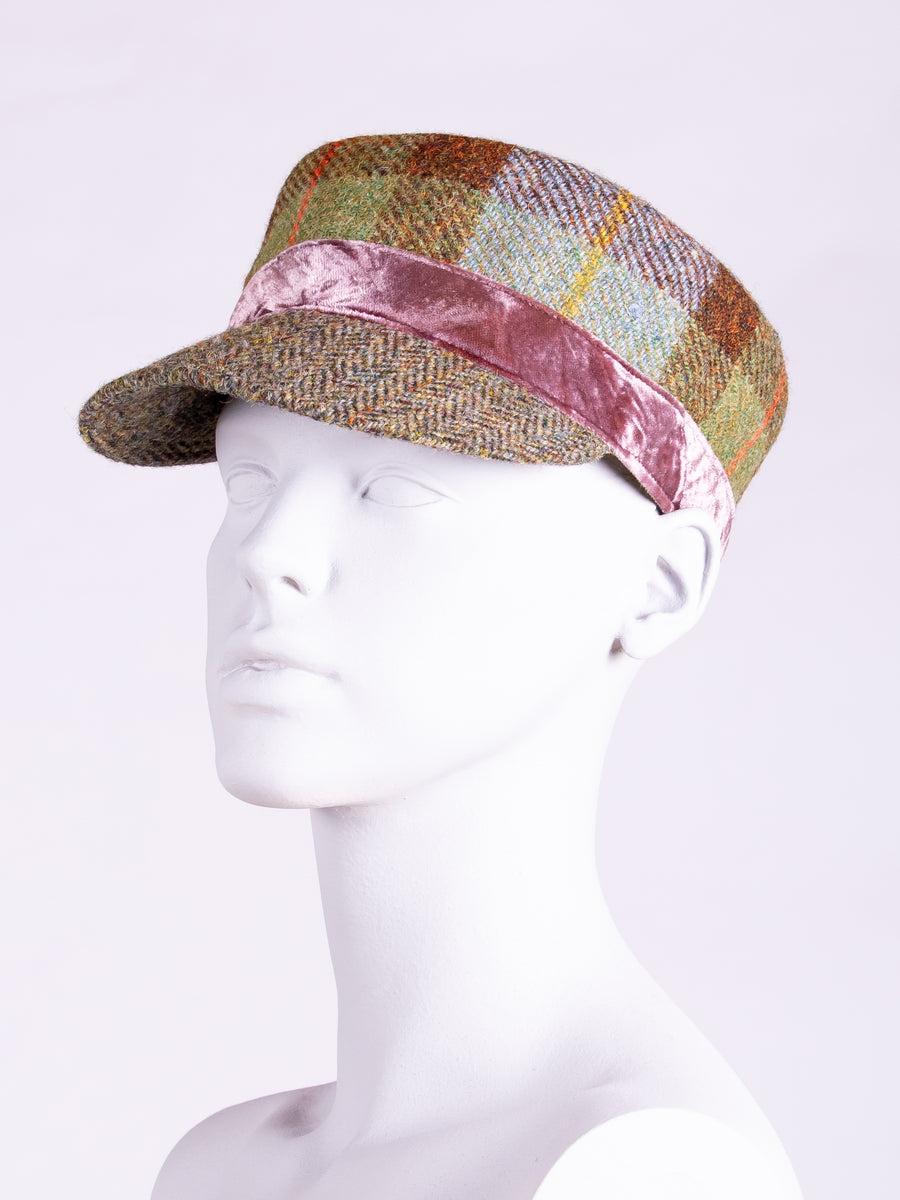 British fashion label - Harris Tweed cap