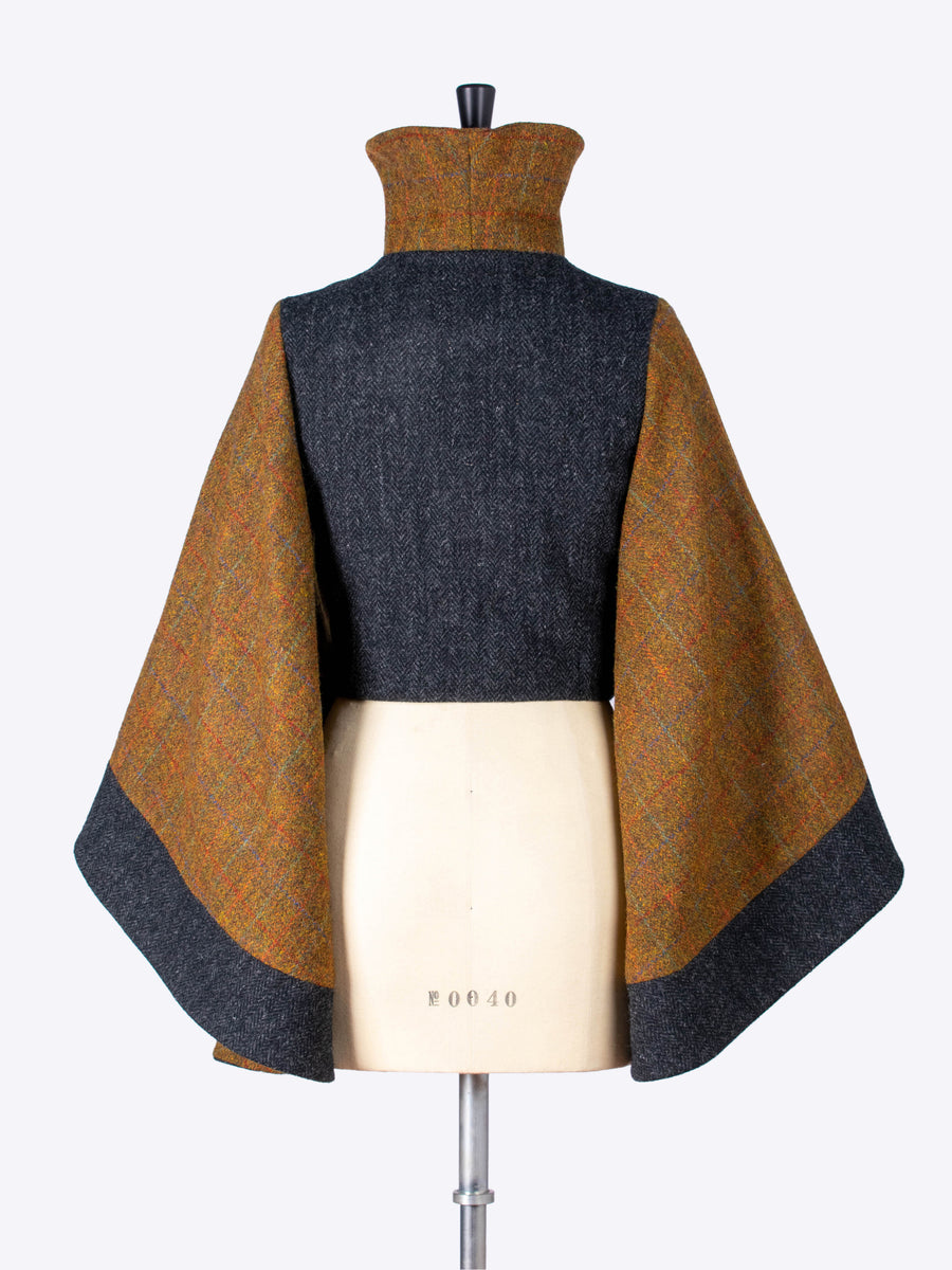 heritage style wool jacket - sustainable luxury