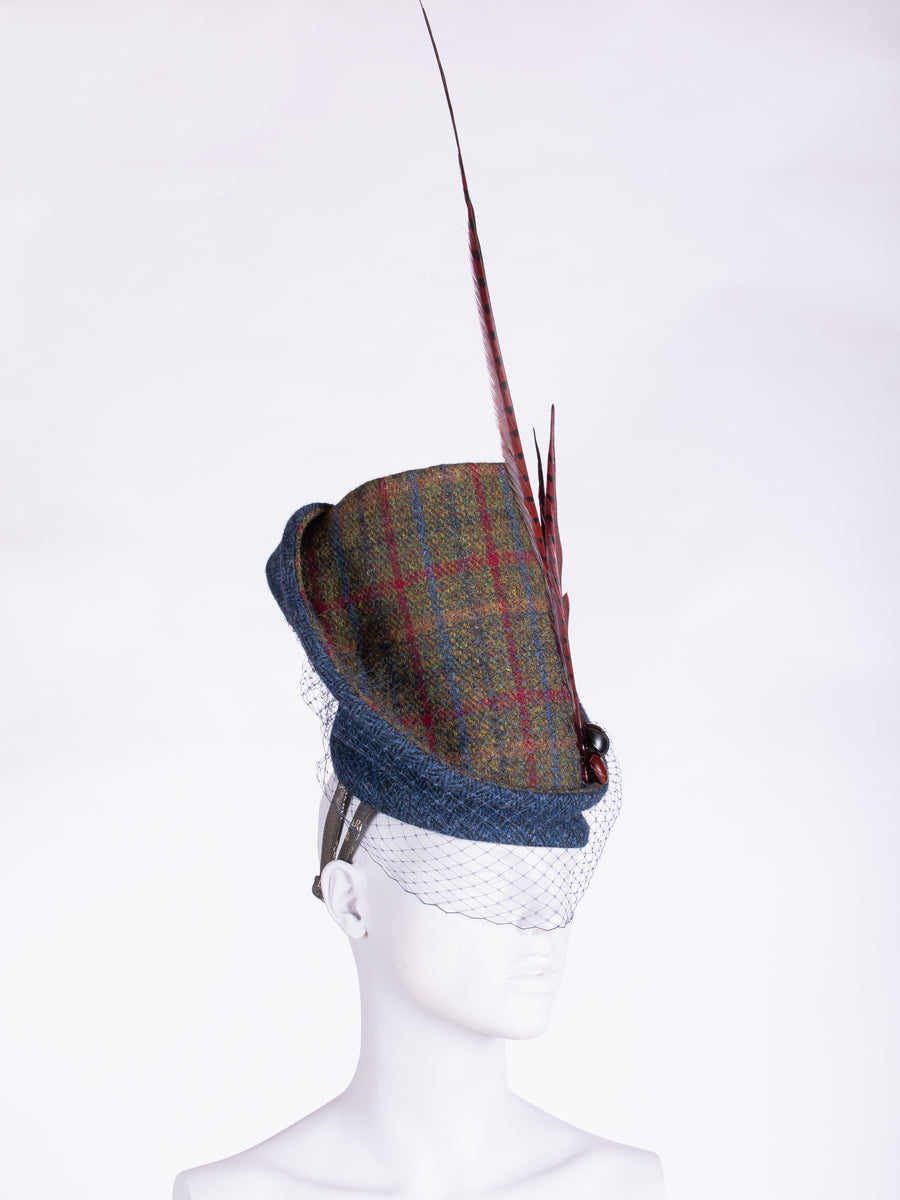 independent fashion label - Edwardian style wool hat
