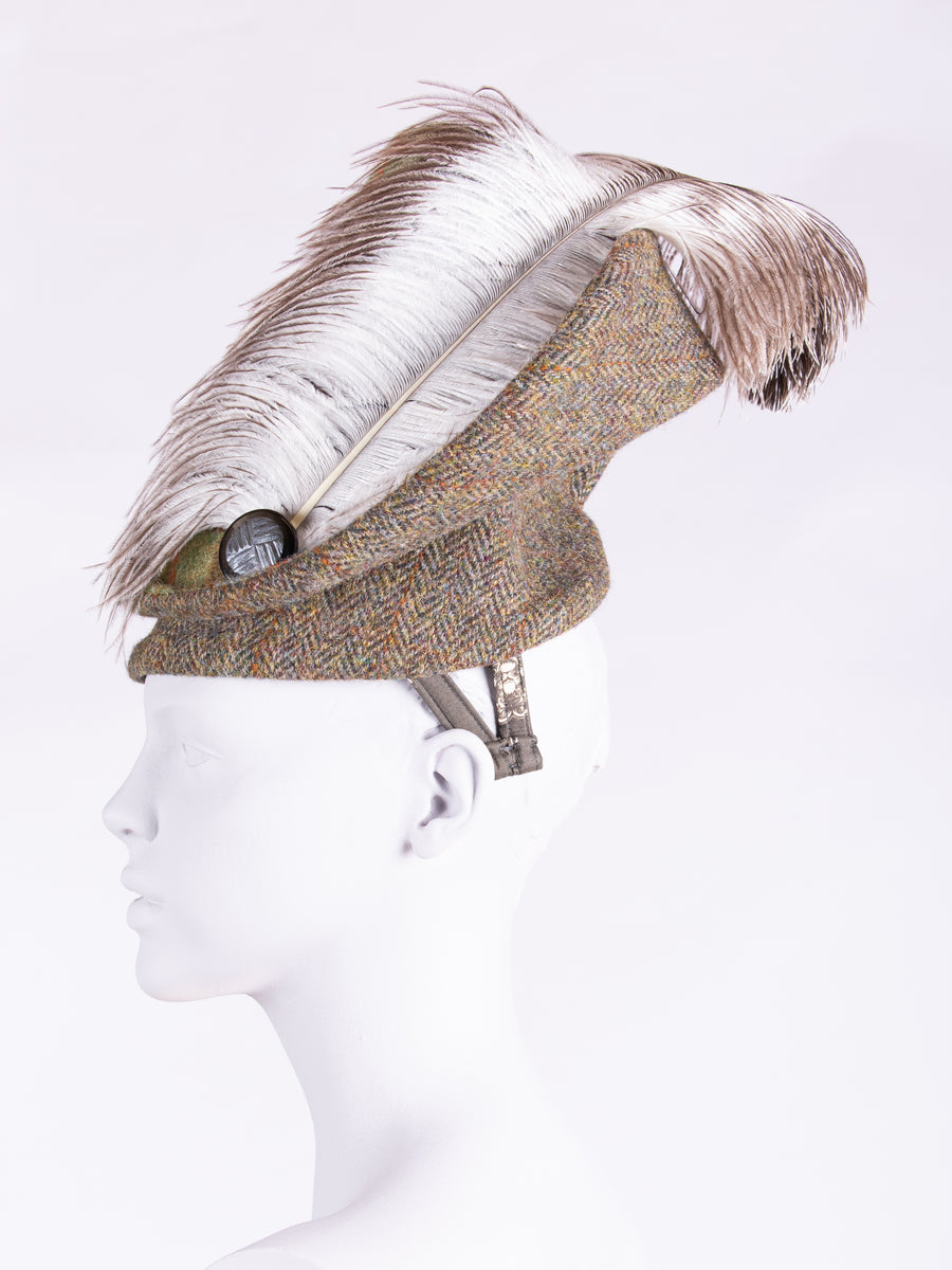 slow fashion - hat for the races