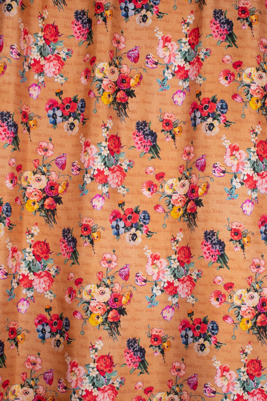 lower pattern printed silk lining