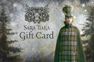 Sustainable gift voucher - luxury bespoke Christmas gift made in England