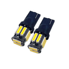 T10 194 W5W 7020 10SMD 1W Small Power LED Automobile Lamp  Ceiling 2PC - 1bigshop