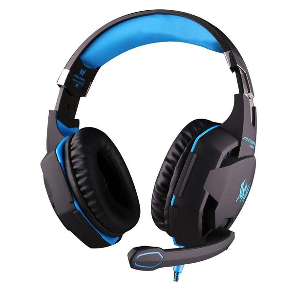 EACH G2100 Gaming Headset with Vibration Function Hidden Mic for Computers Game - 1bigshop