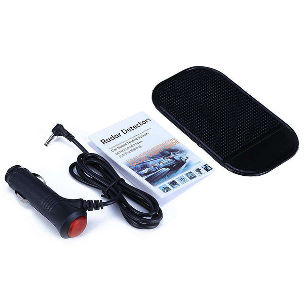 V3 360 Degrees 16 Band Scanning LED Radar Detector Car Speed Testing System - 1bigshop