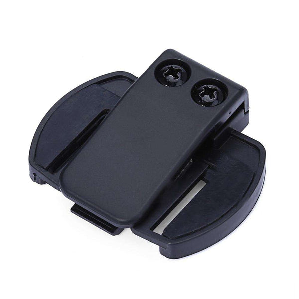 V6 BT Bluetooth Motorcycle Motorbike Helmet Intercom Headset Bracket Clip Holder - 1bigshop