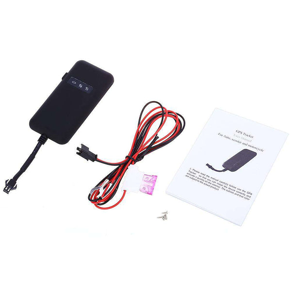 GT02A Car Auto Electric Motorcycle GPS Tracker Locator GSM GPRS Tracking System - 1bigshop