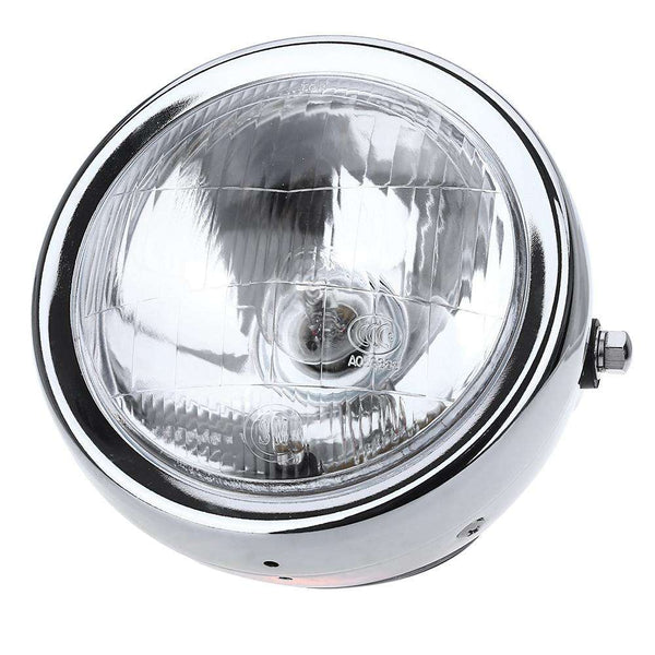 6-Inch High Power 35W Clear Lens High Low Beam Motorcycle Headlight Head Lamp - 1bigshop