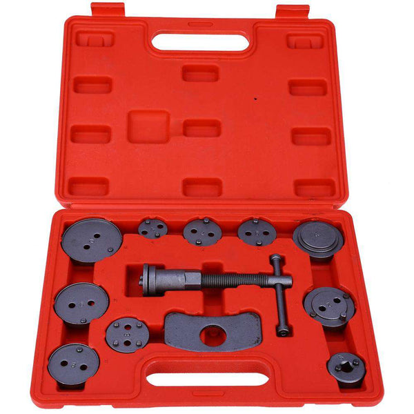 12pcs Universal Automobile Professional Disc Brake Caliper Wind Back Tool Kit - 1bigshop