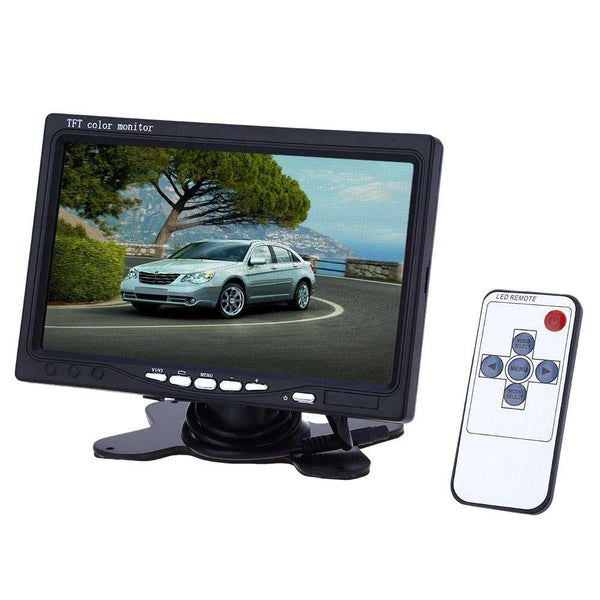 XM722T 7 Inch Universal Car Headrest 234 x 480 TFT LCD Screen Monitor - 1bigshop