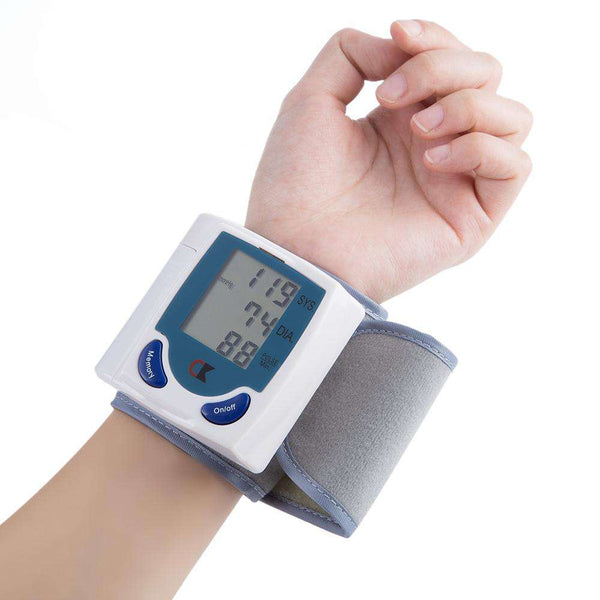 Health Care Digital Upper Automatic Wrist Blood Pressure Monitor - 1bigshop
