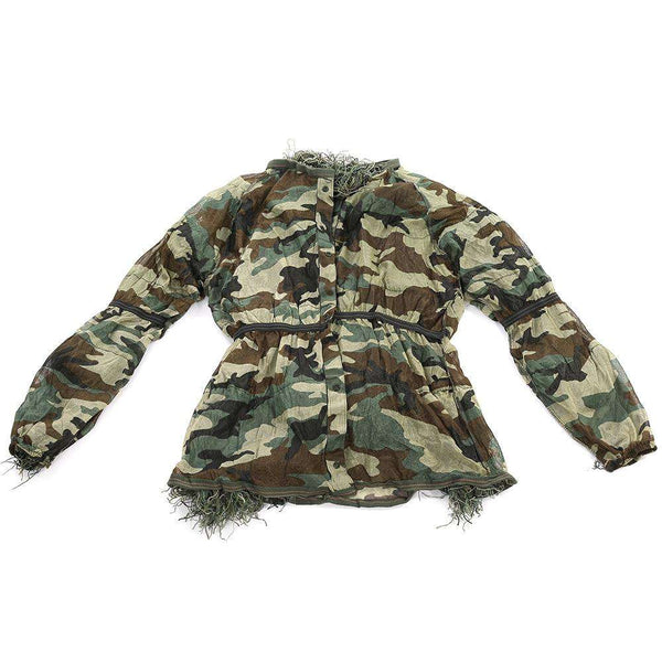 Camouflage Jungle Hunting Ghillie Suit Set Woodland Sniper Birdwatching Poncho - 1bigshop