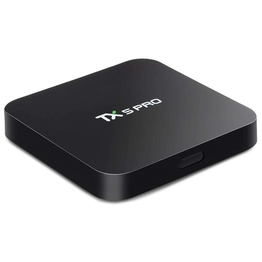 TX5 Pro TV Box H.265 Quad Core Amlogic S905X Android 6.0 2.4G 5.8G Media Player - 1bigshop