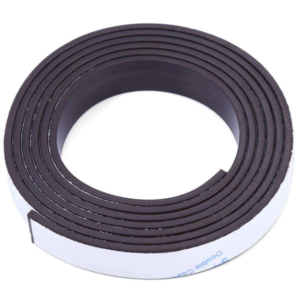 10 x 1.5mm 1m Self-adhesive Flexible Rubber Magnet Strip Tape - 1bigshop