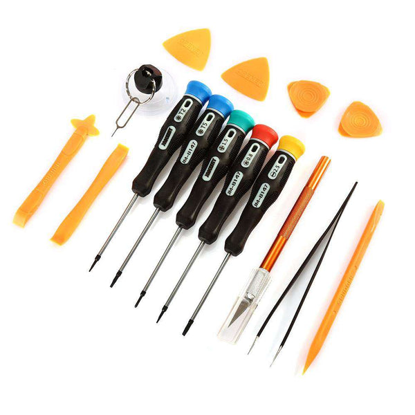 JAKEMY JM - 9101 15 in 1 Screwdriver Set for Mobile Phone Disassembling - 1bigshop