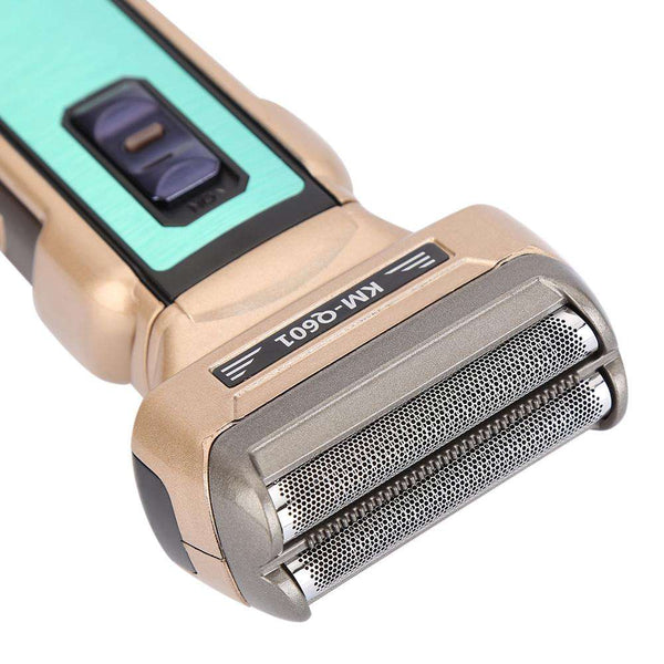 Kemei KM - Q601 Portable Reciprocating Electric Shaver Travel Use Safe Razor for Men - 1bigshop