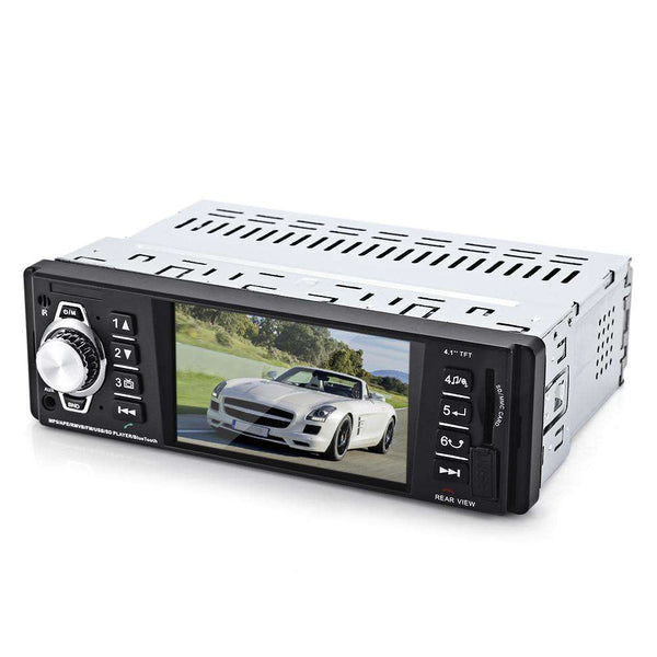 4016C 4.1 Inch Embedded Car MP5 Player with USB SD AUX Ports LCD Display - 1bigshop