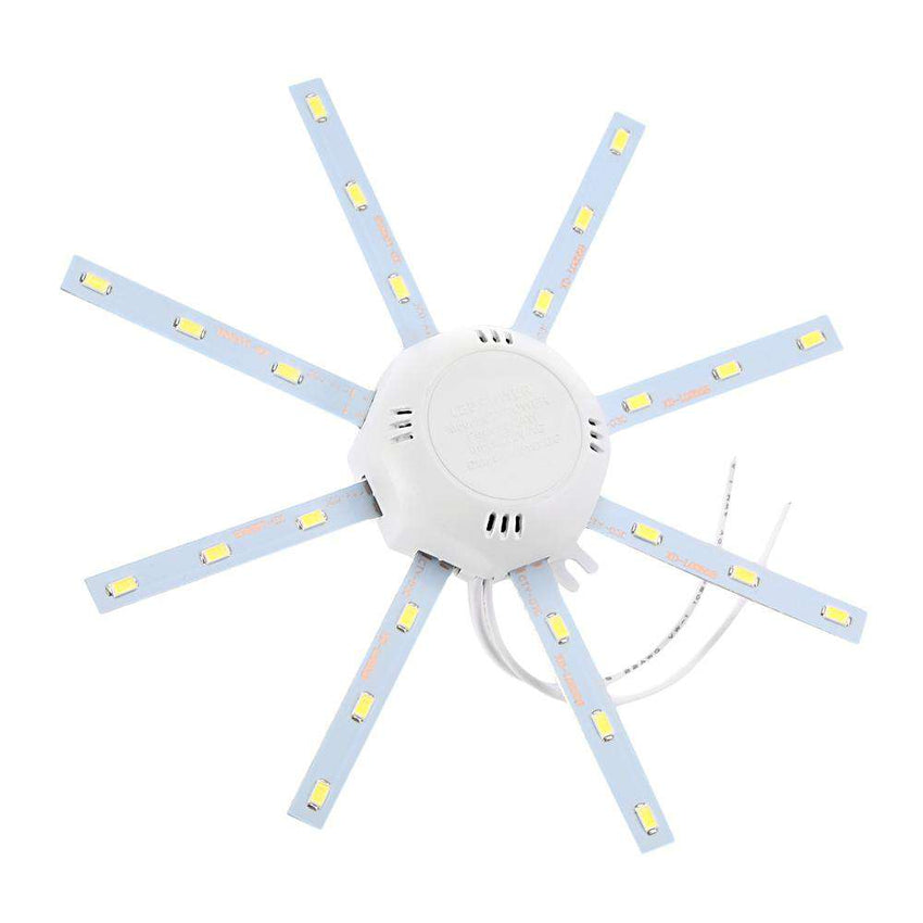 12W 900Lm 24 LEDs 5730SMD LED Ceiling Lamp Octopus Round Light - 1bigshop