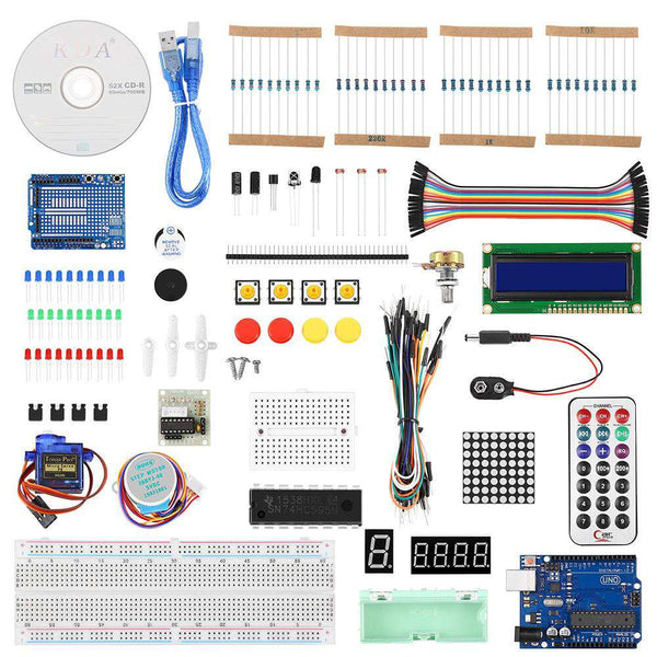 UNO R3 Starter Kit for Arduino Beginner - 1bigshop