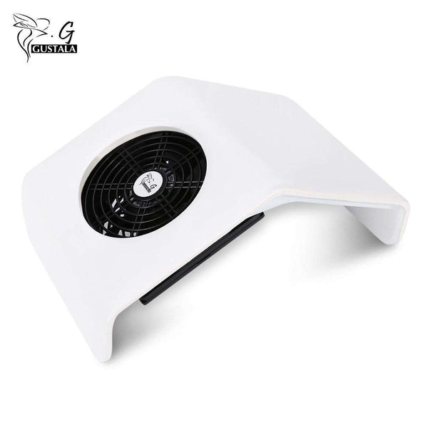 Gustala Suction Nail Dust Collector UV Gel Dryer 30W Cleaner - 1bigshop