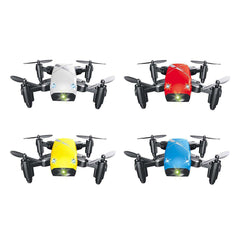 S9 Micro Foldable RC Quadcopter RTF 2.4GHz 4CH 6-axis Gyro / Headless Mode / One Key Return - 1bigshop