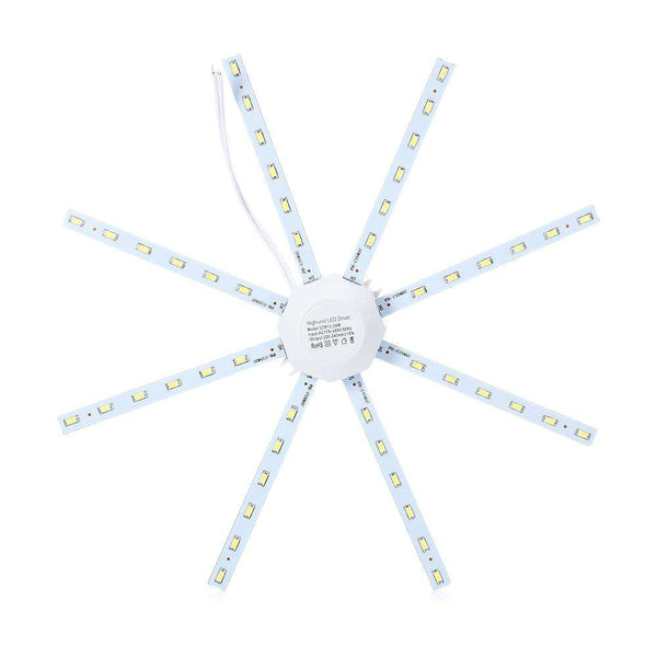 LITEBUF 24W 1800LM 48LEDs LED Ceiling Lamp Octopus Round Light - 1bigshop