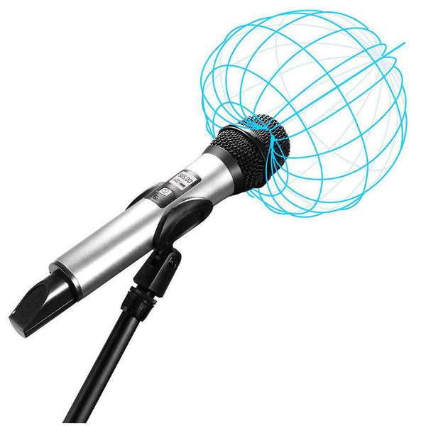 FIFINE K035 Wireless Handheld Microphone with Receiver for PC Laptop - 1bigshop