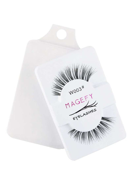 1 Pair 3D Natural False Eyelashes DIY Makeup - 1bigshop