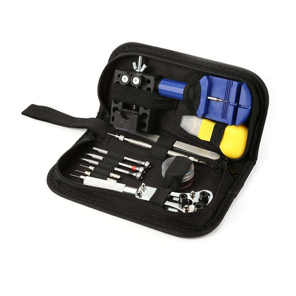13pcs Watch Clock Repair Portable Watchmaker Tools - 1bigshop