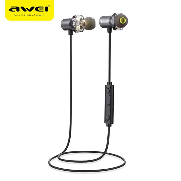 Awei X650BL Magnet Attraction Bluetooth 4.1 Sports Headphone - 1bigshop
