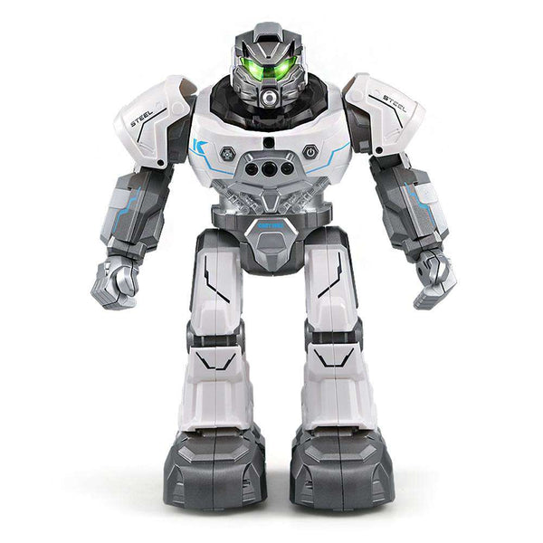 JJRC R5 RC Robot Auto Follow Smartwatch Control Sing Dance Intelligent Programming - 1bigshop
