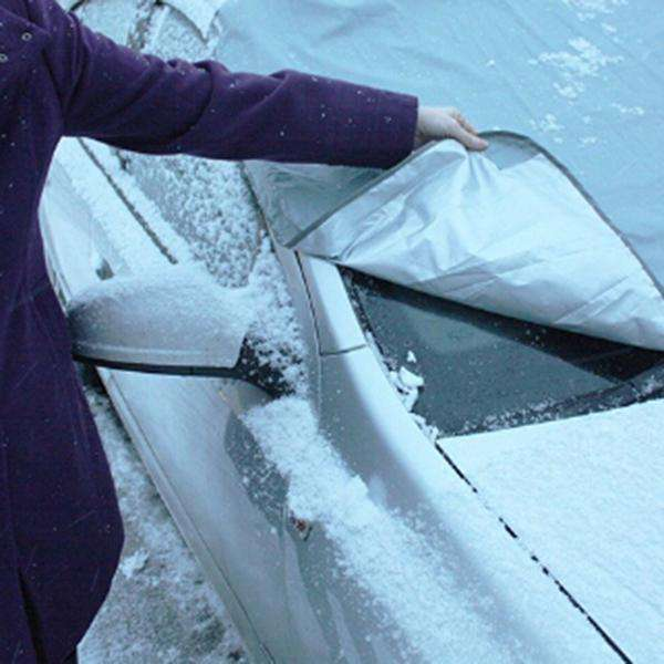 Car Full Protection Windshield Cover Snow Ice Sun Dust Frost Protector - 1bigshop